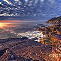 Otter Cove Sunrise by Marco Crupi