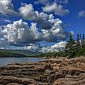 Otter Point Afternoon by Rick Berk