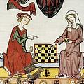 Otto Iv Of Brandenburg Playing Chess by Everett