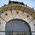 Otto Wagner Pavilion At Karlsplatz by Frank Gaertner