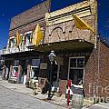 Otts Assay Office And The South Yuba Canal Building Nevada City California by Jason O Watson