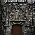 Oude Kerk Door Amsterdam by Teresa Mucha