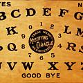 Ouija Board 3 by Tony Rubino