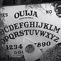 Ouija Board Queen Mary Ocean Liner Bw by Thomas Woolworth