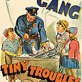 Our Gang Vintage Movie Poster 1930s by Mountain Dreams