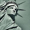 Our Lady Liberty - Verdigris Tone by Dyle   Warren