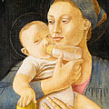 Our Lady Nursing The Child by Andrea Vandoni