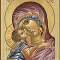 Our Lady Of Grace Vladimir 002 by William Hart McNichols