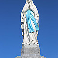 Our Lady Of Lourdes Statue 2 by Carol Groenen