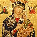 Our Lady Of Perpetual Help  by Philip Ralley