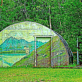 Our Lady Of The Way Quonset Hut Chapel In Haines Junction-yt by Ruth Hager