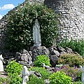 Our Lady Of The Woods Shrine Lll by Michelle Calkins