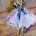 Our  Ballerina Girl Painting by Mary Cahalan Lee- aka PIXI