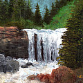 Ouray Falls by Mark Eckley