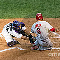 Out At The Plate by Bob Hislop