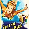 Out Of The Blue, Us Poster, From Left by Everett