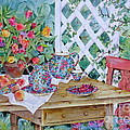 Outdoor Tea by Sherri Crabtree