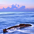 Outer Banks - Beached Boat Final Sunrise II by Dan Carmichael