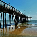 Outer Banks Pier South Nags Head 2 5/22 by Mark Lemmon