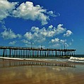 Outer Banks Pier South Nags Head 1 5/22 by Mark Lemmon