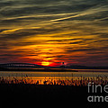 Outer Banks Sunset by Ronald Lutz