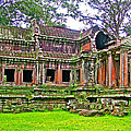 Outer Building Of Angkor Wat In Angkor Wat Archeological Park Near Siem Reap-cambodia  by Ruth Hager