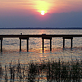 Outerbanks Nc Sunset by Sandi OReilly