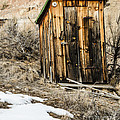 Outhouse With Electricity by Sue Smith