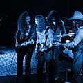 Outlaws #26 Crop 2 Blue by Ben Upham