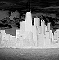 Outline Of Chicago by Milena Ilieva