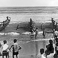 Outrigger Canoe Championship by Underwood Archives