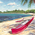 Outrigger - Haleiwa by Steve Simon