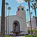 Outside Los Angeles Union Station by Richard Cheski