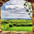 Outside The Fortress Wall by Jeff Kolker
