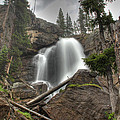 Ouzel Falls Upper View by Shelly Gunderson
