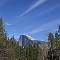 Over Half Dome by Ross Murphy