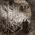 Over London by Gustave Dore