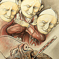 Over-pope-ulation - Cartoon Art by Peter Potter