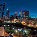 Over The Cuyahoga Before Sunrise by At Lands End Photography