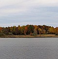 Over View Of Some Fall Colors For The Lake by Eric Noa
