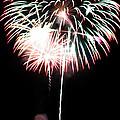 4th Of July Fireworks 4 by Howard Tenke