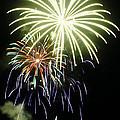 4th Of July Fireworks 5 by Howard Tenke