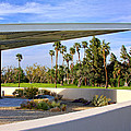 Overhang Palm Springs Tram Station by William Dey