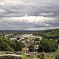Overlooking Boyertown by Trish Tritz