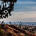 Overlooking Denver by Karen Saunders