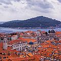 Overlooking Dubrovnik by Madeline Ellis