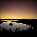 Overlooking Emerald Bay At Dawnlake Tahoe by Scott McGuire