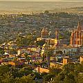 Overlooking San Miguel De Allende by Dusty Demerson
