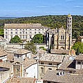 Overlooking Uzes by Jenny Hudson