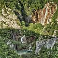 Overview Of Plitvice by Timothy Hacker